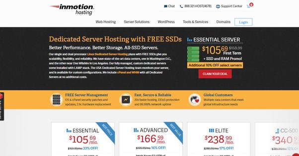 Dedicated server blog g m