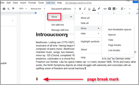 How To Add Or Remove Page Breaks In Google Docs Quora Deleting files in google docs shouldn't be a chore. remove page breaks in google docs quora