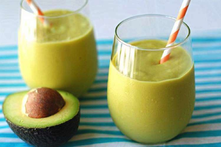 Avocado healthy smoothie recipe