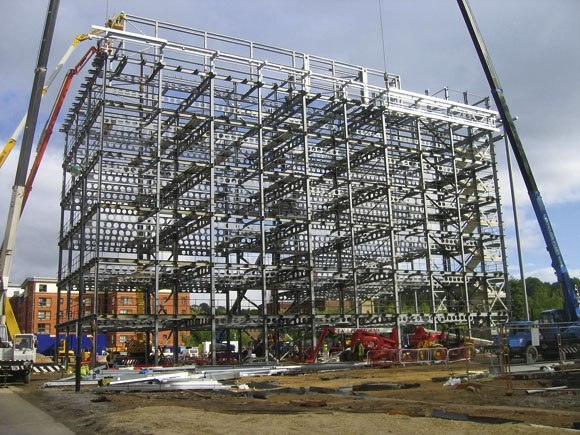 Used Steel Framed Buildings : How is steel used in the construction of buildings quora