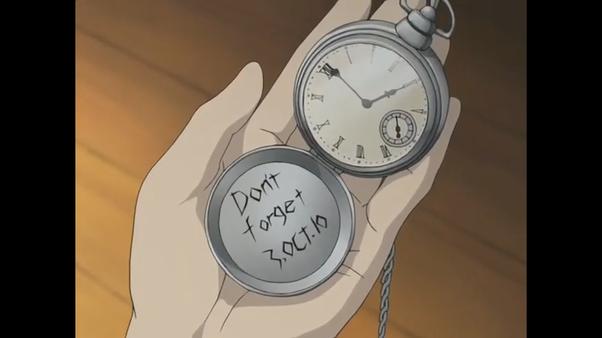 In Fullmetal Alchemist (2003), is it not forgetting ...