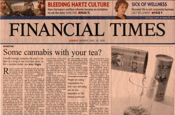 Why are business newspapers printed on pink paper? - Quora