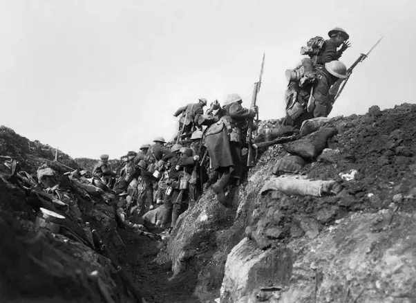What was the costliest battle in wwi quora at 730 am on july 1st 1916 the whistle was blown and the british troops went over the top publicscrutiny Choice Image