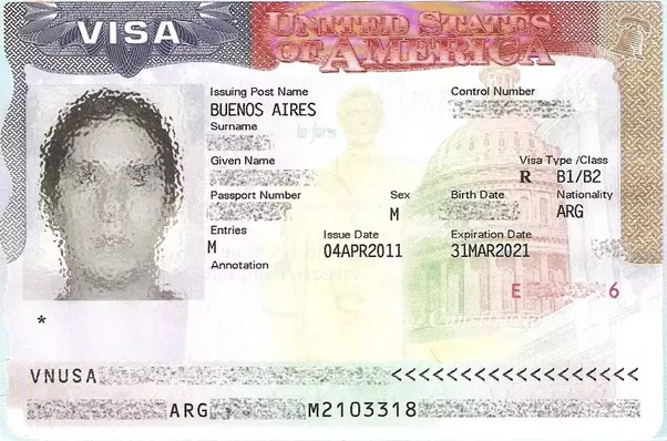 how much is the b1 b2 usa visa application