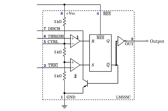 what is the 555 timer ic