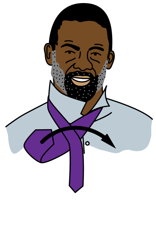 How to tie a tie simply