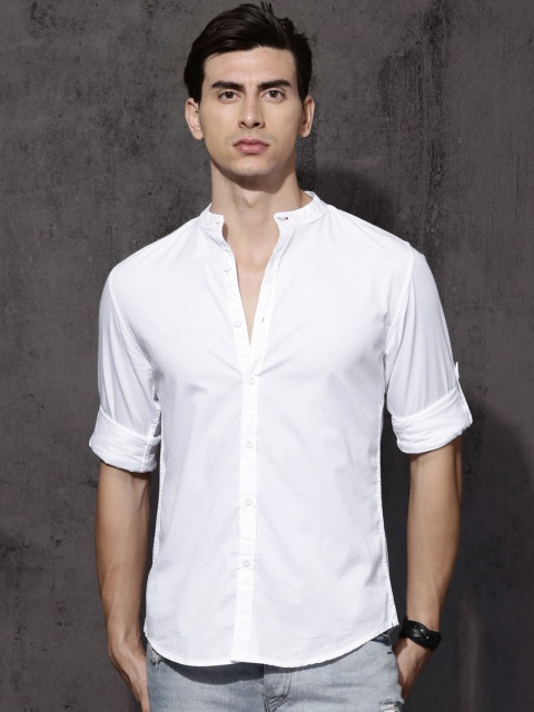 0cdd173b8562f Which is the best brand for pure white formal shirts for men  - Quora