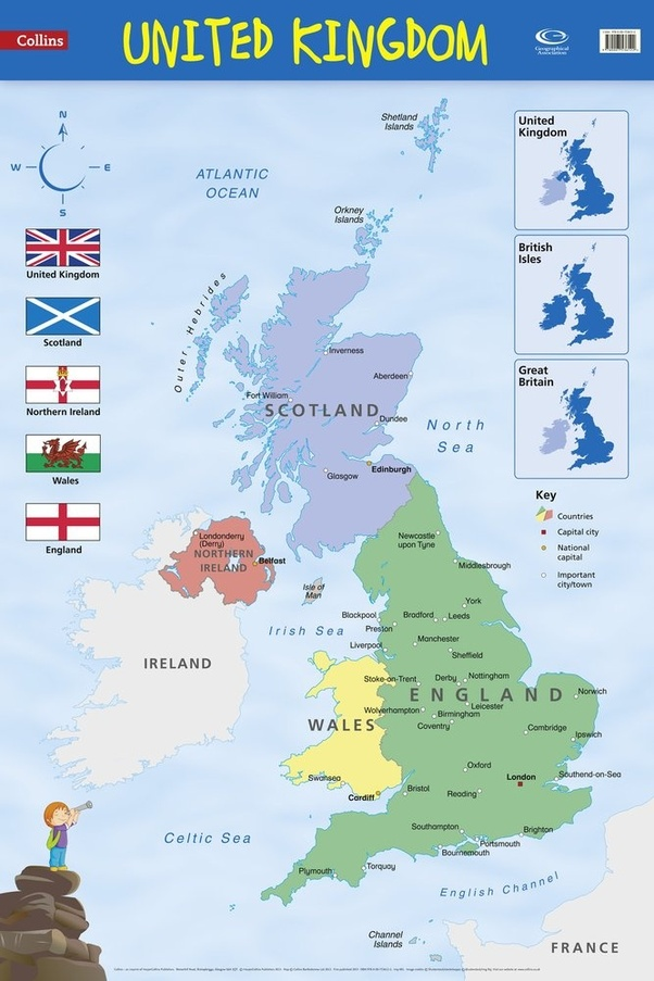 what countries belong to the uk