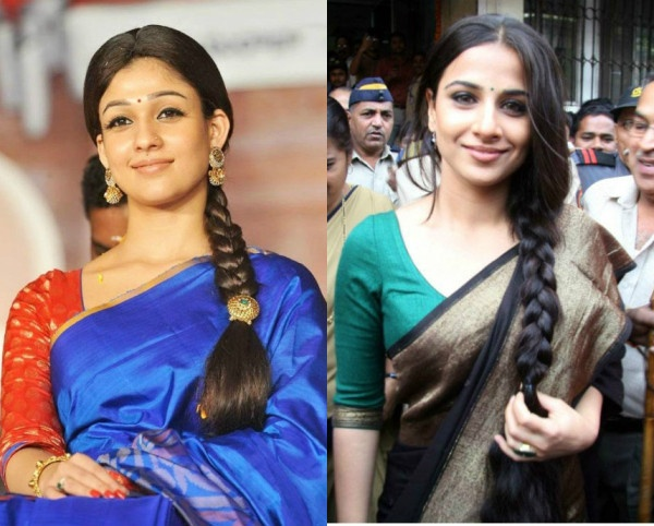 Which Hairstyle Will Go Best With Sarees Quora