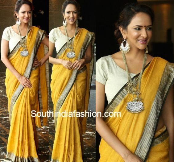d440b6310f305 Which Colour Of Jewelry Is Best For A Yellow Sari Quora
