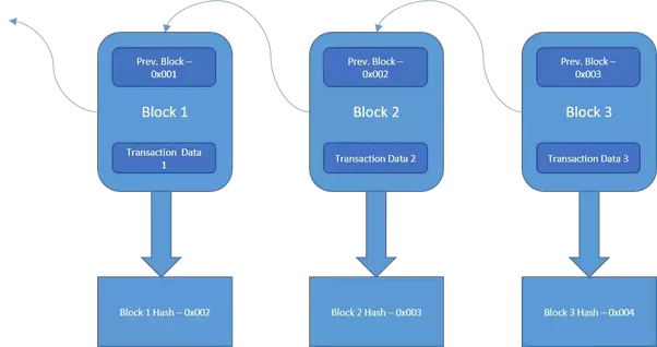 In Fact This Parent Block Linking Is What Makes The Blockchain Immutable