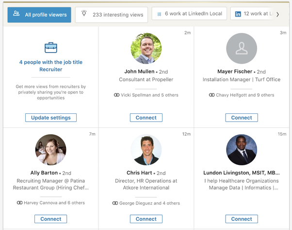 If I view a user's LinkedIn profile more than once does that user get a  notification each time? - Quora