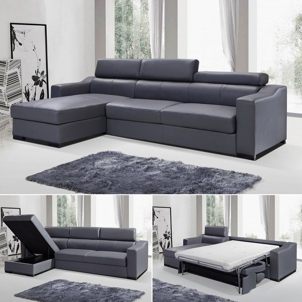 Furniture: Where can I find a nice white leather sectional ...