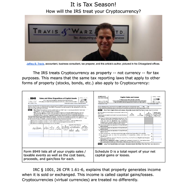 taxes cryptocurrency schedule d