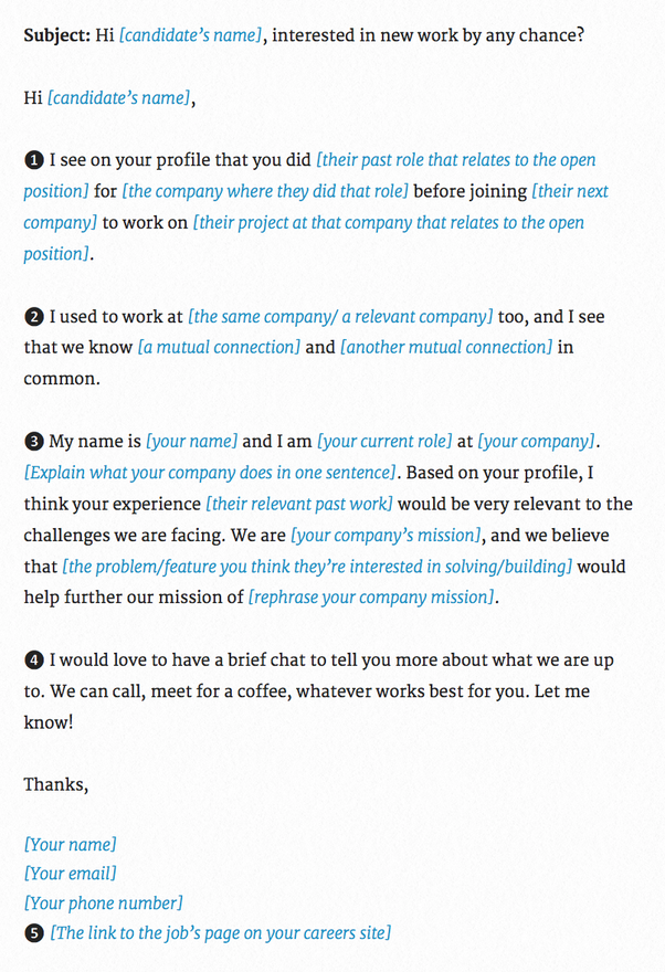 What aspects of mass recruiting emails work best at attracting ...