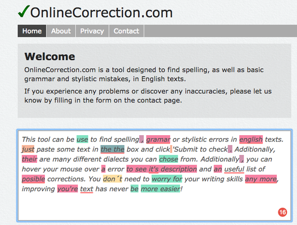 What's the best free grammar checker on the Internet? - Quora
