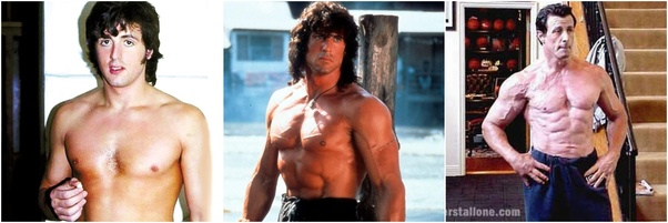 How did Sylvester Stallone get so big without steroids? - Quora