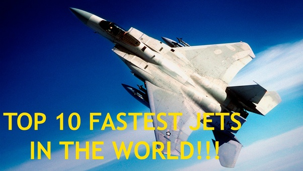 How fast can the fastest fighter jet fly? - Quora