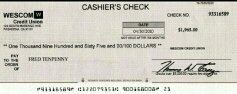 can i cash my cashiers check at walmart