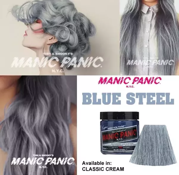 How Light Should My Hair Be Before I Use Manic Panic Blue