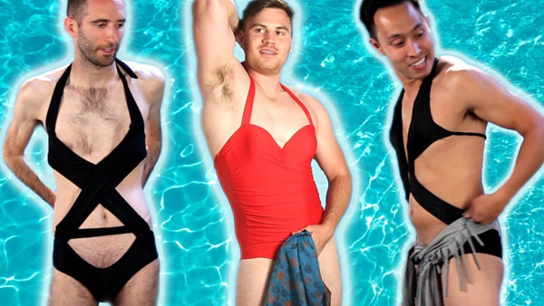 8a13062fdf Question answered: How do I ask a girl wearing a one-piece swimsuit if she  is willing to make me wear one too?