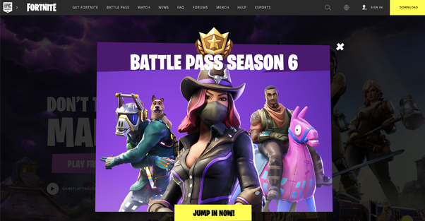 epic games fortnite download now
