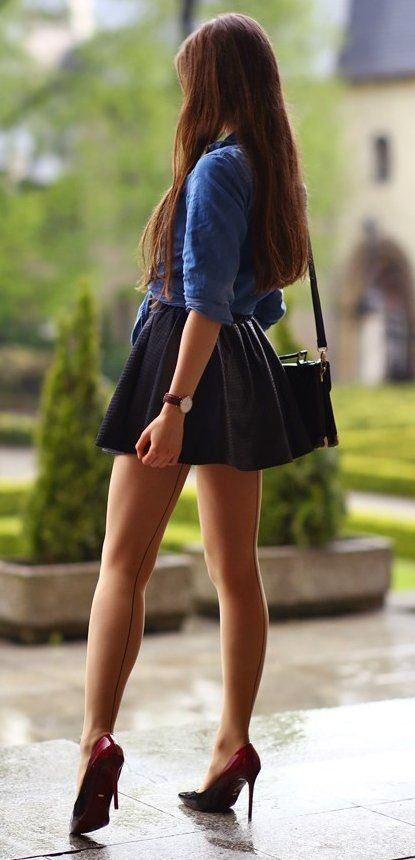 skirts public mini in short Girls