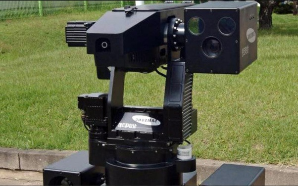 Can sentry guns used and made by the United States be
