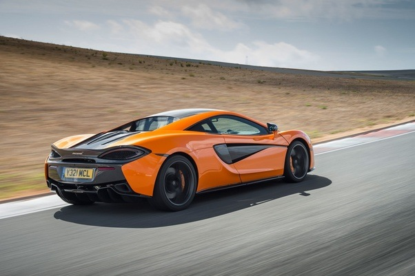 Charmant By Far The Best Car Out Of All Of Them Is The McLaren 570s.