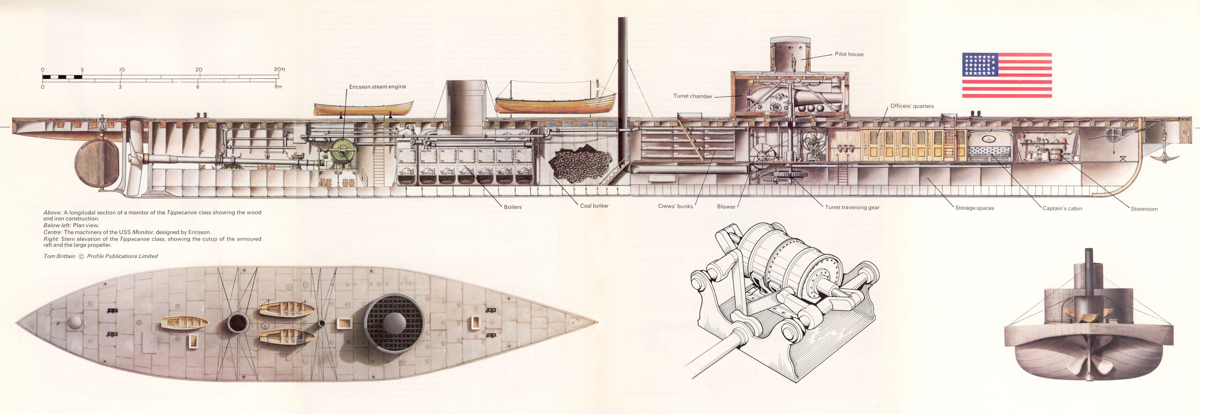 What were the weaknesses of the USS Monitor and how were they addressed in  subsequent ships of the monitor type? - QuoraQuora