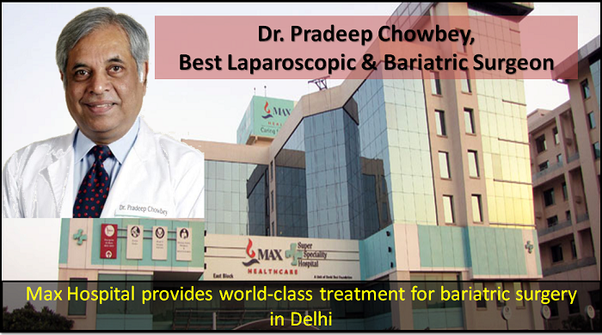 Which hospital have the best bariatric surgeons in India