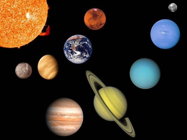 how come our planet is a ball shape if everything in nature is a