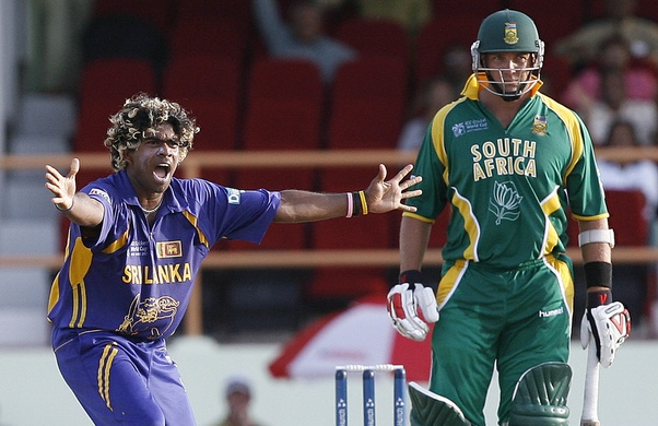 d3456ac5e7a Lasith Malinga is the only man to have taken two Cricket World Cup hat- tricks