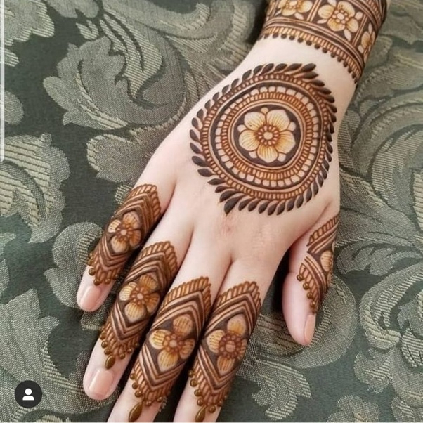 What Are Some Beautiful Mehndi Designs Quora