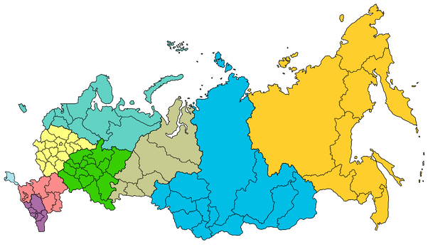 I Know Russia Is A Large Country But Where Is Most Of The Russian - Where is russia located