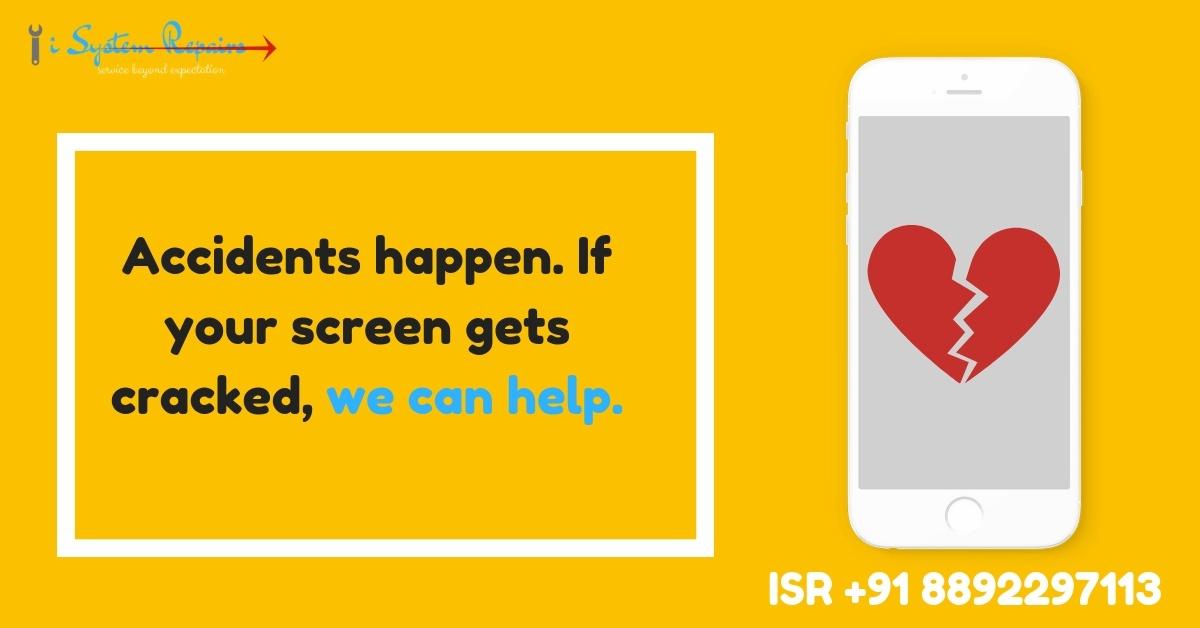 iphone cracked screen repair cost india