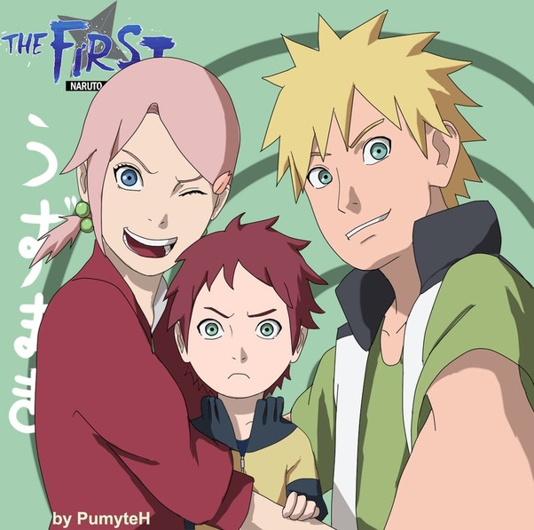 What would Sakura and Narutos child be like personality or