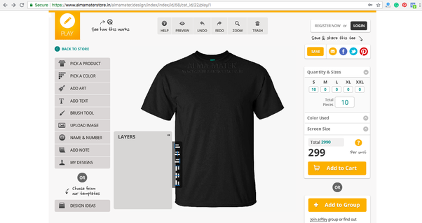 2dcea77d42e What is the best website to buy customized T-shirts in India  - Quora