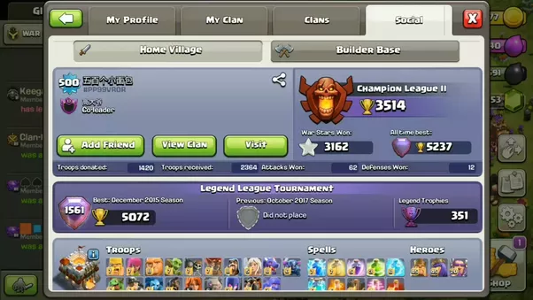 What is the highest level player in Clash of Clans? - Quora