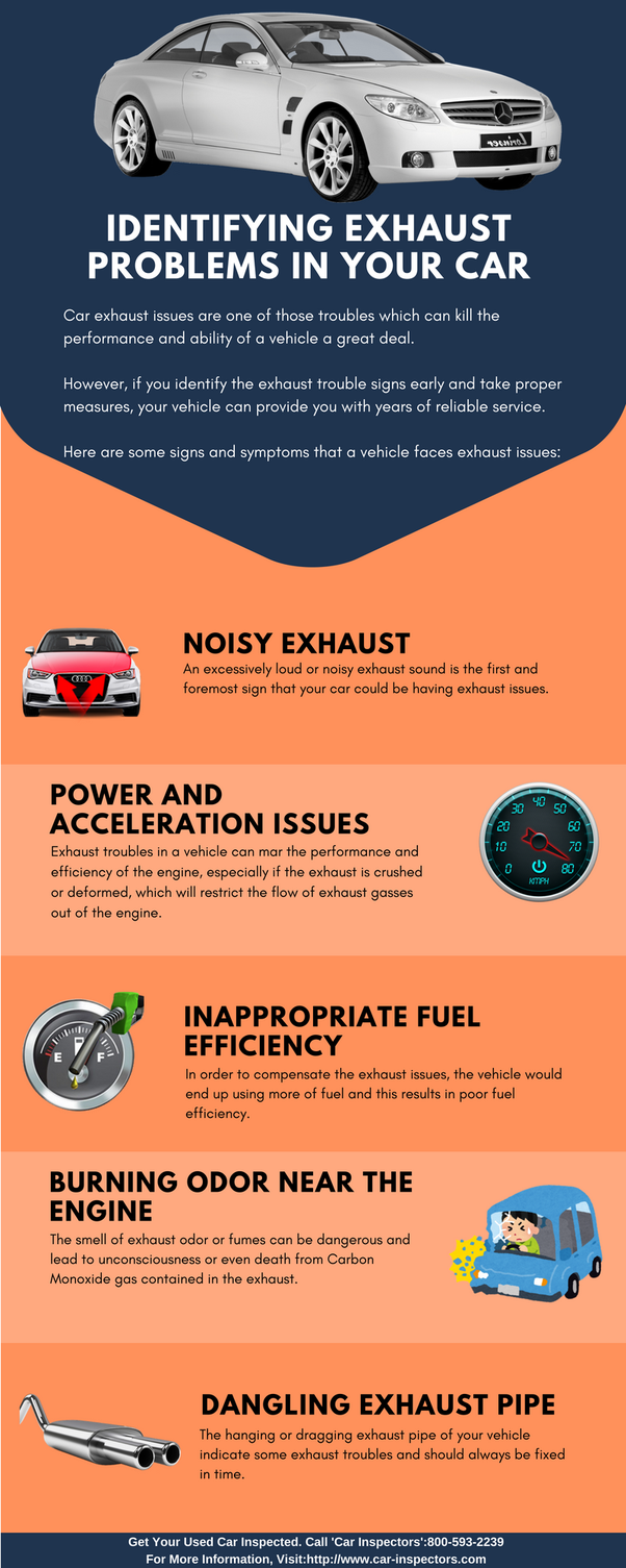 What does steam from a car exhaust pipe mean? - Quora