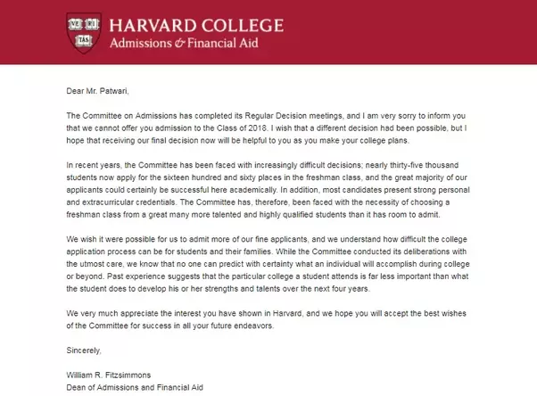 college acceptance letter what does your college acceptance or rejection letter 3705