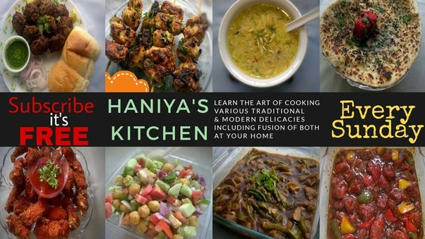 Which chef has the best cooking channel in youtube quora channel link haniyas kitchen forumfinder Choice Image