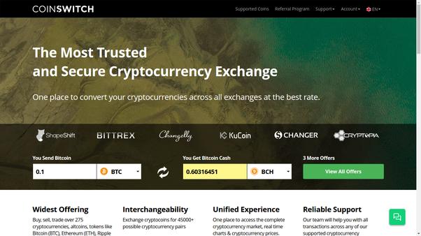 btc to bch exchange