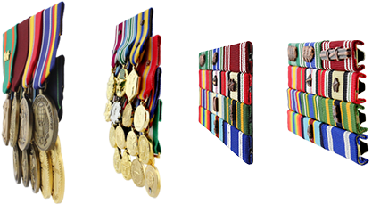White Female Dress Mini Medals