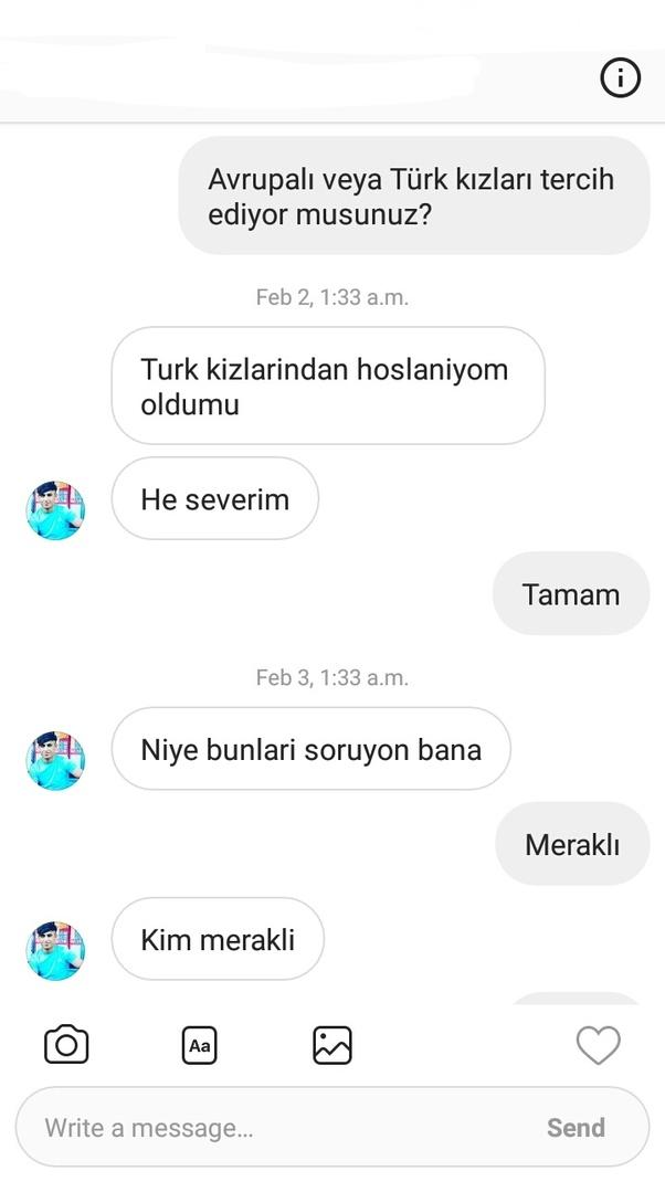 Women and english turkish men Why Do
