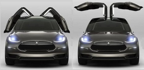 You can kind of see here that the Tesla u0027falconu0027 doors appear to not require as much horizontal room to open up as the u0027gullu0027 door may have. & What is the advantage/disadvantage of blowout doors of the Tesla ...