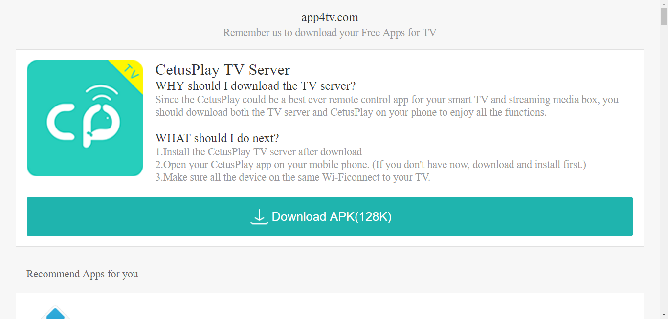 Where can I get apks for Fire TV and Android box except for