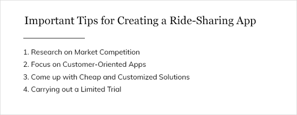 What is the best Ride sharing app development company? - Quora