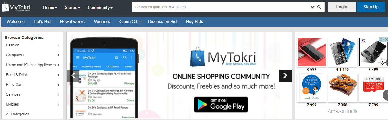 f408fc4ada Mytokri is India's no.1 coupons, offers, and deals website, with more than  the top 1000 plus online shopping stores offering the largest deals,  coupons, ...