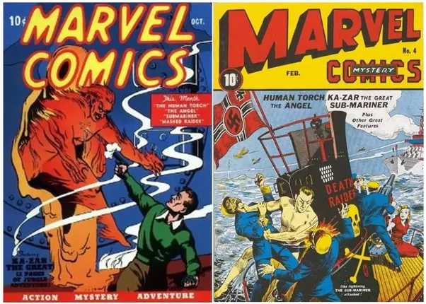 marvel comics history